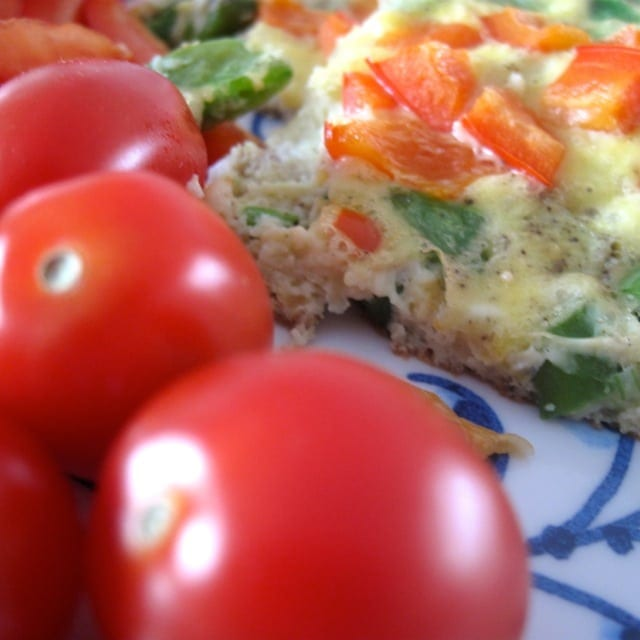 omelet, opskrift, sund, sundt
