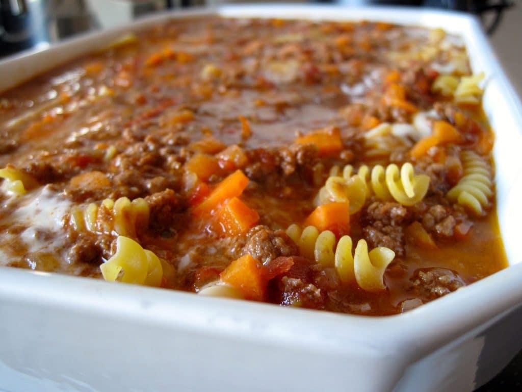 lasagne, pasta, dagens middag, aftensmad