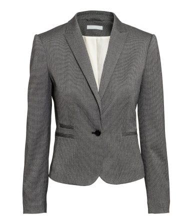 figursyet jakke, ønsker