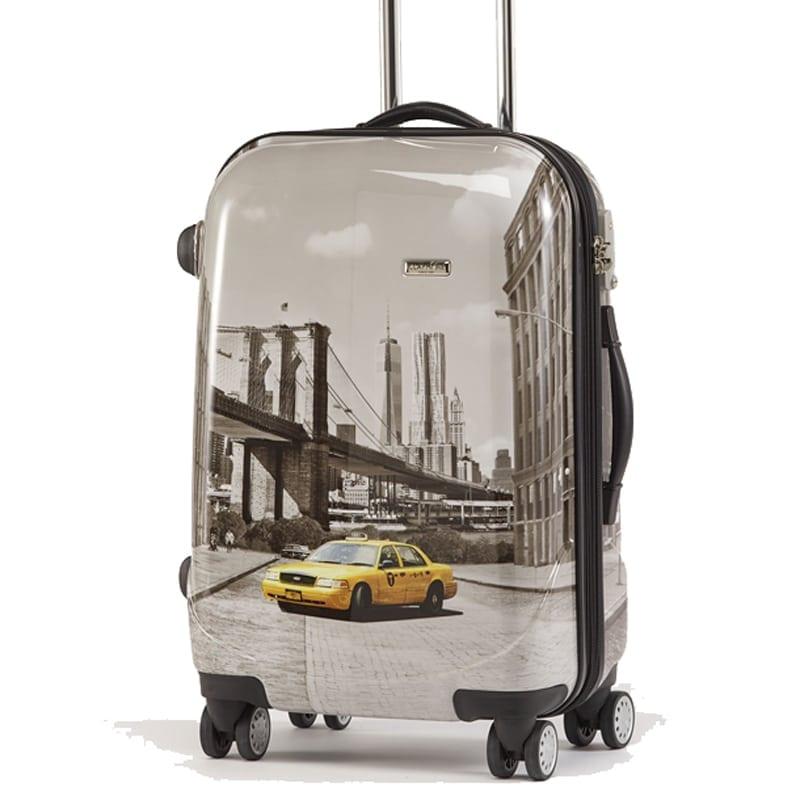 Kuffert og toilettaske