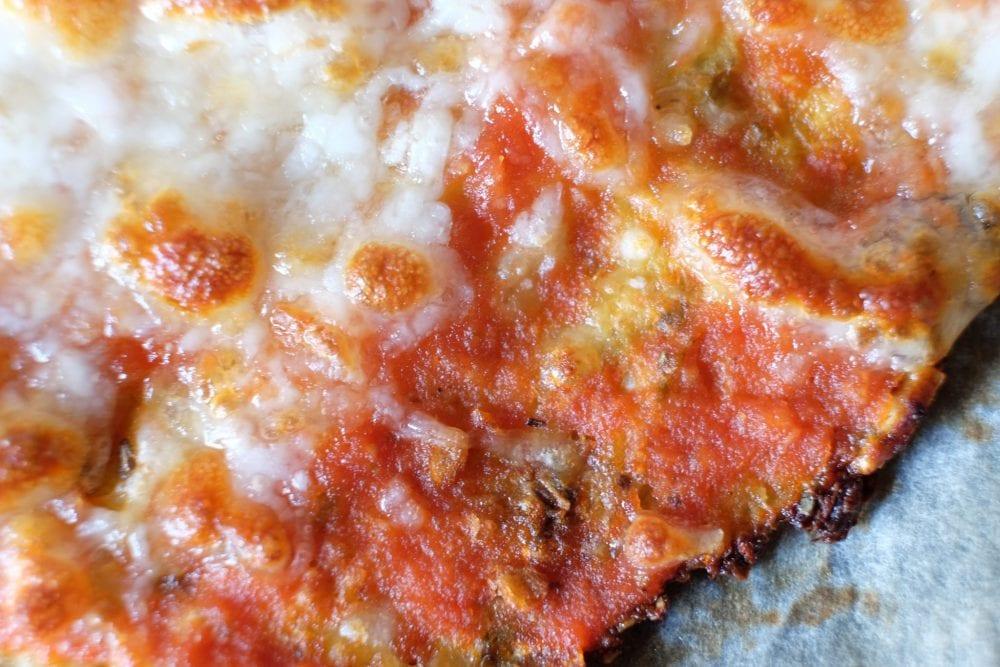 Fast blomkålspizza