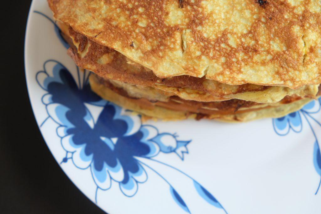 proteinpandekager, pandekager, opskrift, sundt, kostvejleder, kostvejledning, willowlounge.dk