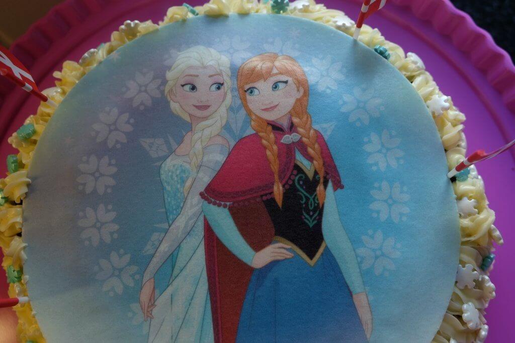 Bondekonens chokoladekage, Vera 6 år, fødselsdag, hurra, tillykke