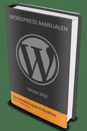 wordpress manual, wordpress manualen
